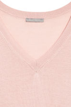 Fine-knit jumper - Light pink - Ladies | H&M 3